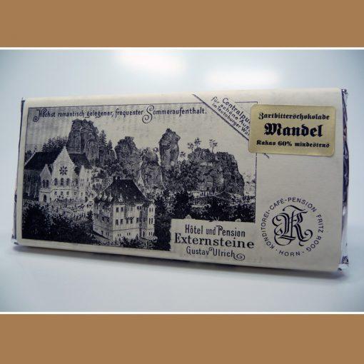 Zartbitter Schokolade Mandel