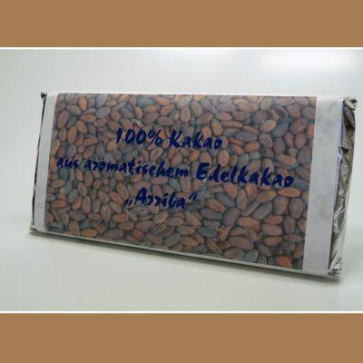 100% Kakao Arriba Schokolade