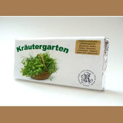 Extra Feine Edelbitter Schokolade Kraeutergarten