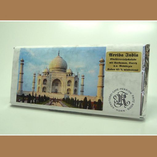 Extra feine Edelbitter Schokolade India