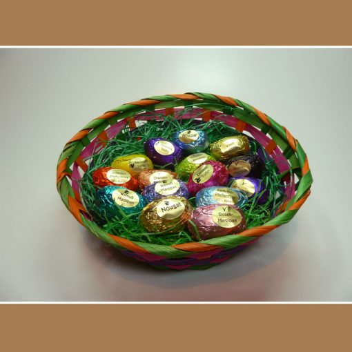15 Pralinen-Eier