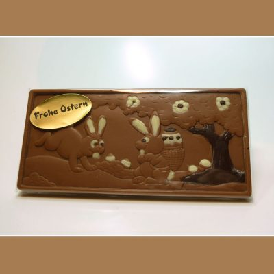 Schokoladentafel Osterhasen