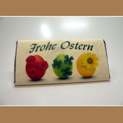 Osterschokolade Frohe Ostern