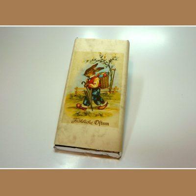 Osterschokolade Froehliche Ostern