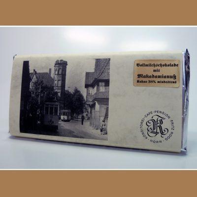 Vollmilch Schokolade Makadamianuss