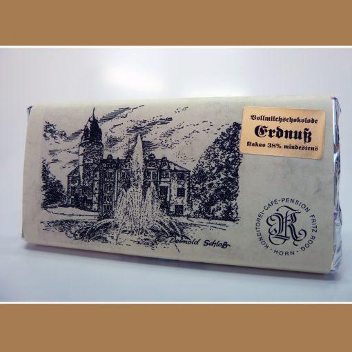 Vollmilch Schokolade Erdnuss