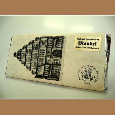 Vollmilch Schokolade Mandel