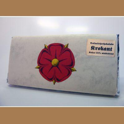Vollmilch Schokolade Krokant
