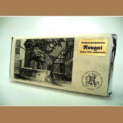 Vollmilch Schokolade Nougat