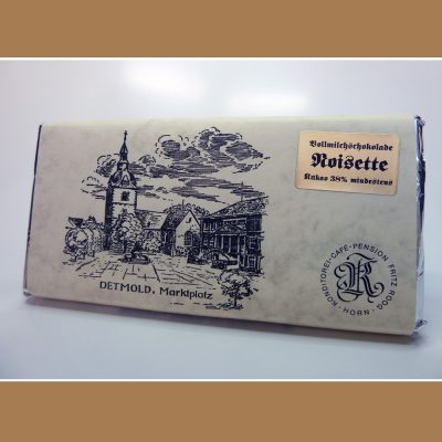 Vollmilch Schokolade Noisette