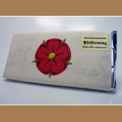 Vollmilch Schokolade Pfefferminz