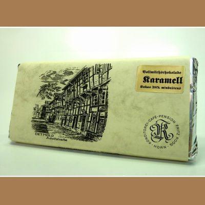Vollmilch Schokolade Karamell