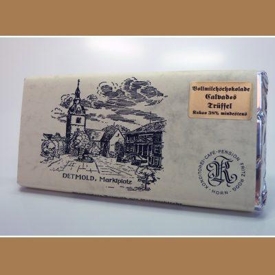 Vollmilch Schokolade Calvados Trueffel