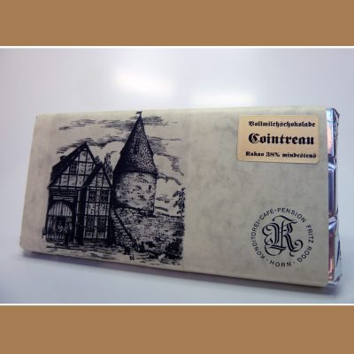 Vollmilch Schokolade Cointreau