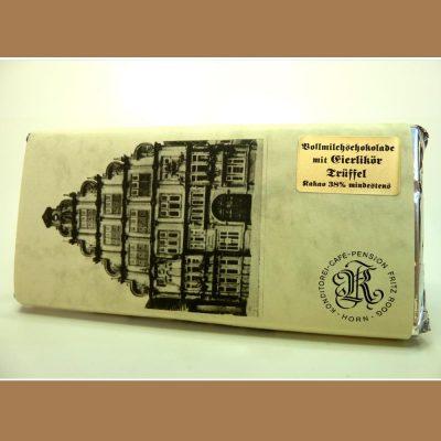 Vollmilch Schokolade Eierlikör Trüffel