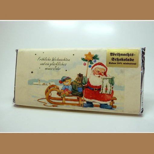 Vollmilch Weihnachtsschokolade