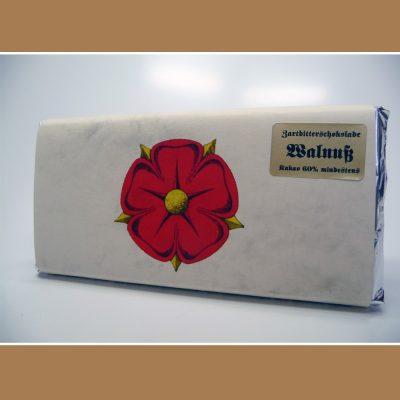 Zartbitter Schokolade Walnuss