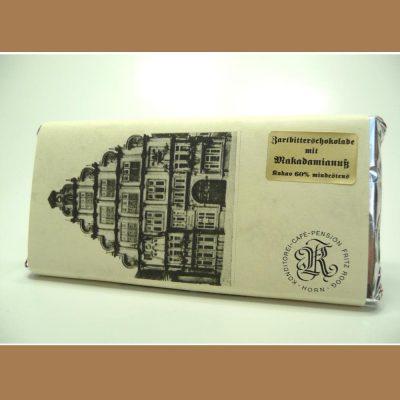 Zartbitter Schokolade Makadamianuss
