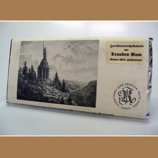 Zartbitter Schokolade Trauben Rum
