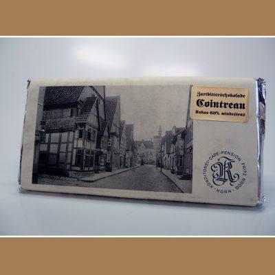 Zartbitter Schokolade Cointreau