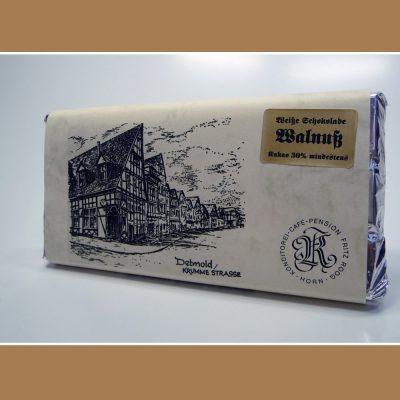 Weisse Schokolade Walnuss
