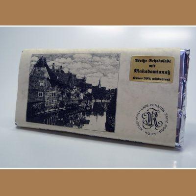 Weisse Schokolade Makadamianuss