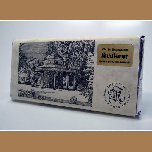 Weisse Schokolade Krokant