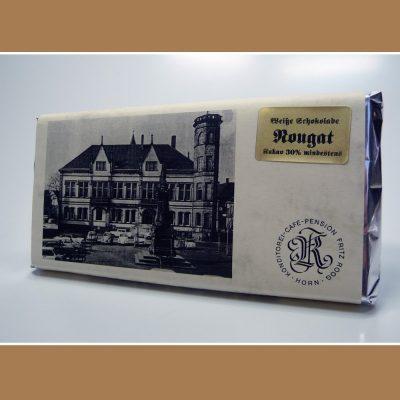 Weisse Schokolade Nougat