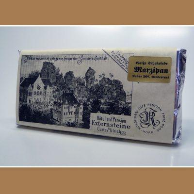 Weisse Schokolade Marzipan