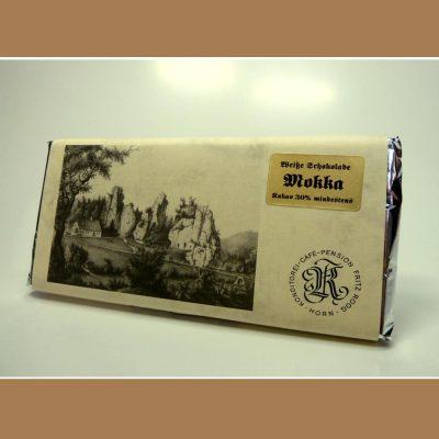 Weiße Schokolade Mokka