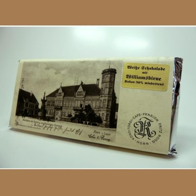 Weiße Schokolade Whisky Sahne