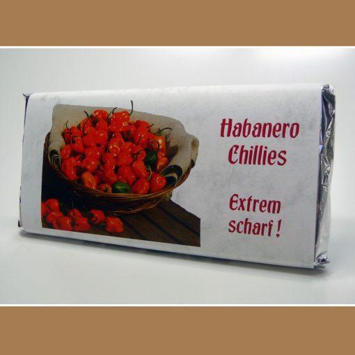 Weisse Schokolade Habanero