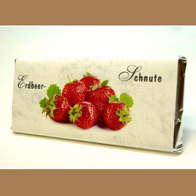 Weiße Schokolade Erdbeer-Schnute