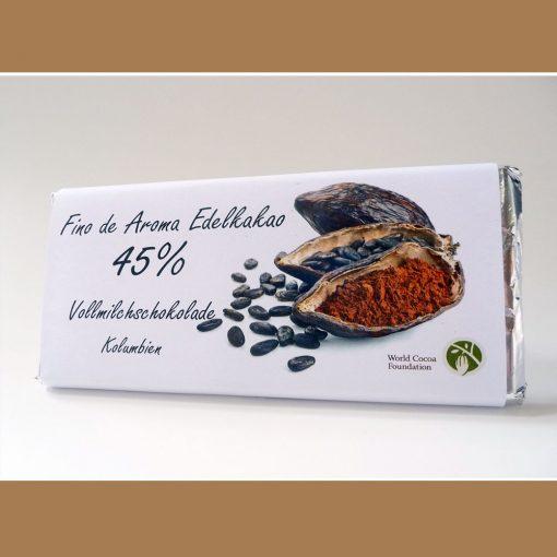 Vollmilch Schokolade Fino de Aroma